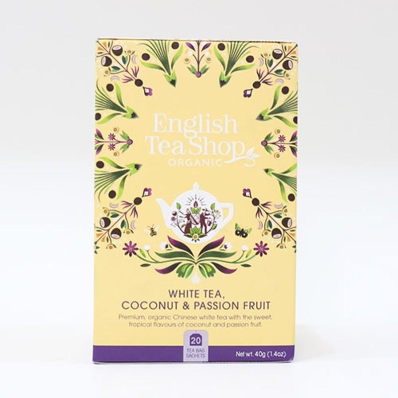 English Tea shop White tea Coconut & Passion Fruit