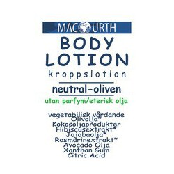MacUrth Body Lotion Neutral...
