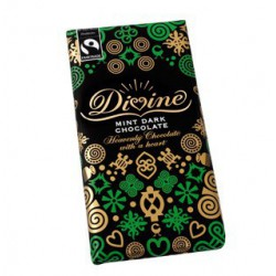 Divine mint dark chocolate