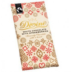 Divine white chocolate with...