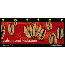 Zotter Saffran och Pistage