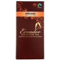 Naturata mörk choklad 70%...