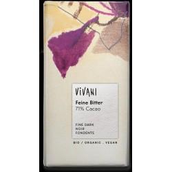 Vivani Mörk Choklad 71% 100g