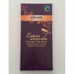 Naturata mörk choklad 100%...