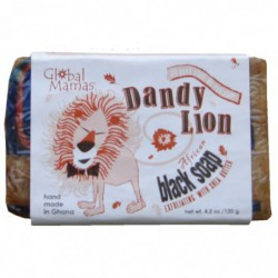 Dandy Lion svart tvål