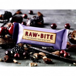 Raw Bite Vanilla Berries