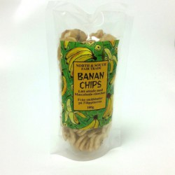 North & South Bananchips 100g