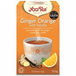 Yogi Tea Ginger Orange with...