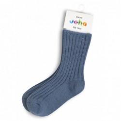 Joha Ullsocka Barn Jeansblå