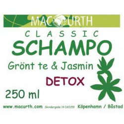 Macurth Schampoo Grönt te &...