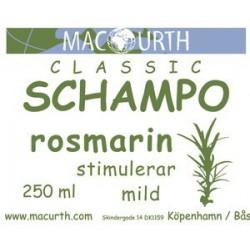 Macurth Schampo - Rosmarin...