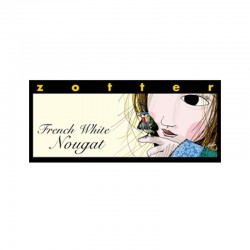 Zotter French White Nougat