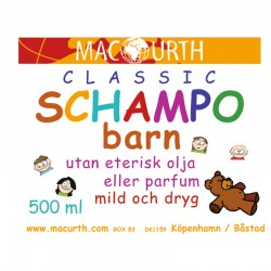 MacUrth Schampoo Barn 250 ml