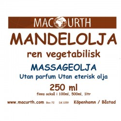 MacUrth Mandelolja Massage...