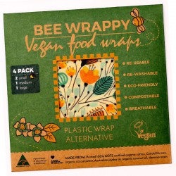 Bee Wrappy - Vegan food...