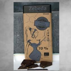 Zebeda Mörk Choklad 70% med...