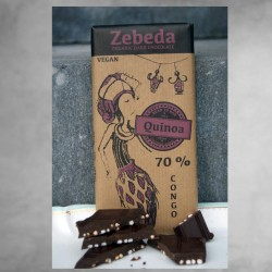 Zebeda Mörk Chokladkaka 70%...