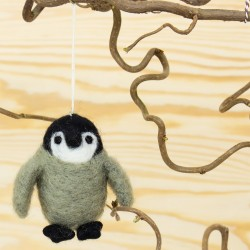 Afroart Pingvin – Julhänge