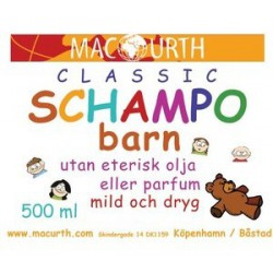 MacUrth Schampo - Barn 500 ml