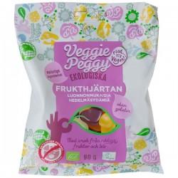 Veggie Peggy Frukthjärtan 90g