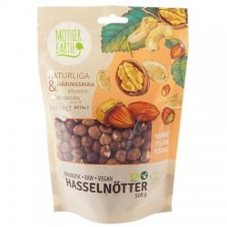 Mother Earth Hasselnötter 500g