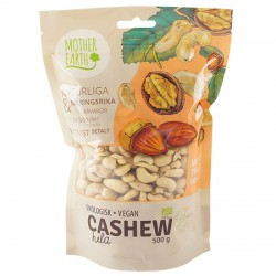Mother Earth Cashewnötter 500g