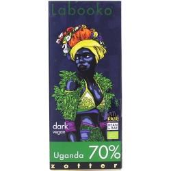Zotter Chocklad Uganda 70%...
