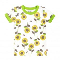 Katvig - T-shirt med solrosor