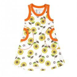 Katvig - Klänning med solrosor