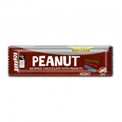 Bonvita Peanut Chokladbar 40g