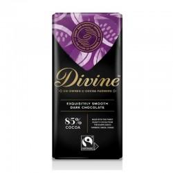 Divine Dark Chocolate 85% 90g